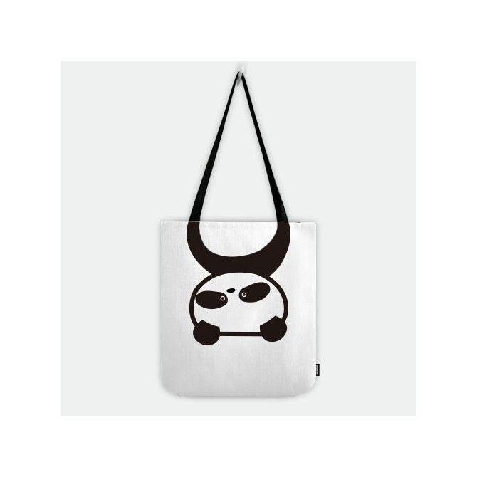 #Hanging #Panda #Shopper Tote #Bag