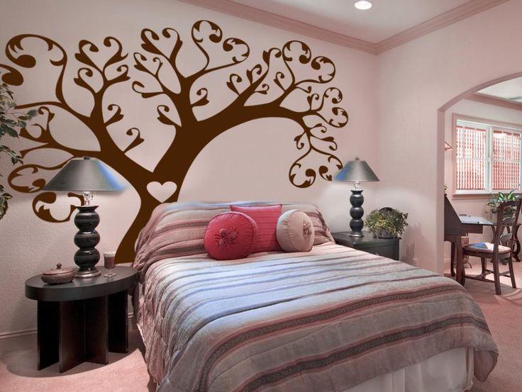 Ve que vinillos decorativos con los árboles añaden un encanto natural en el interior #vinillos #stickers #pared #home #decor #decoraciones