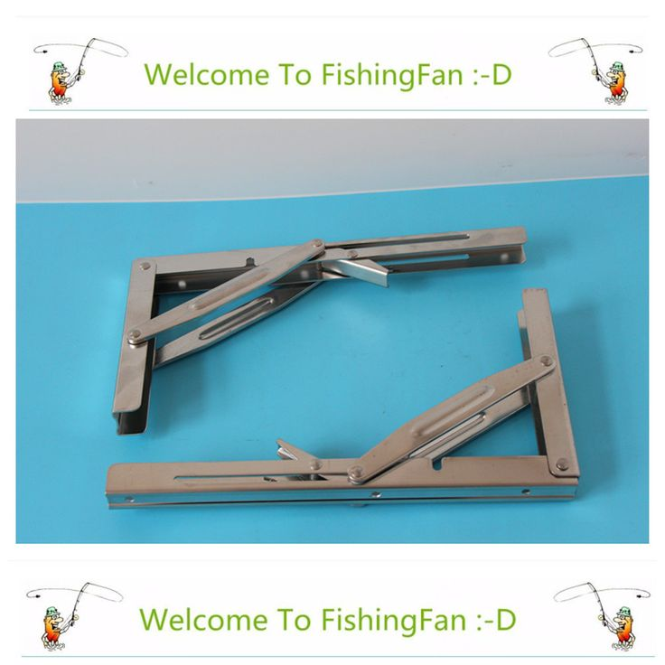 2 개 벽 장착 접이식 테이블 선반 지원 브래킷 봄 쌍 두껍게 304 스테인레스 스틸 테이블 브라켓