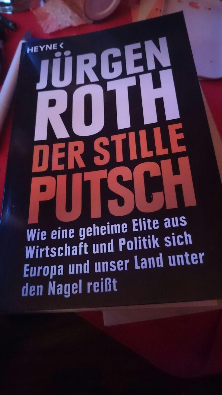 Buch  Jürgen Roth - Der Stille Putsch  Politik - Wirtschaft - Europa - Investigativer Journalismus