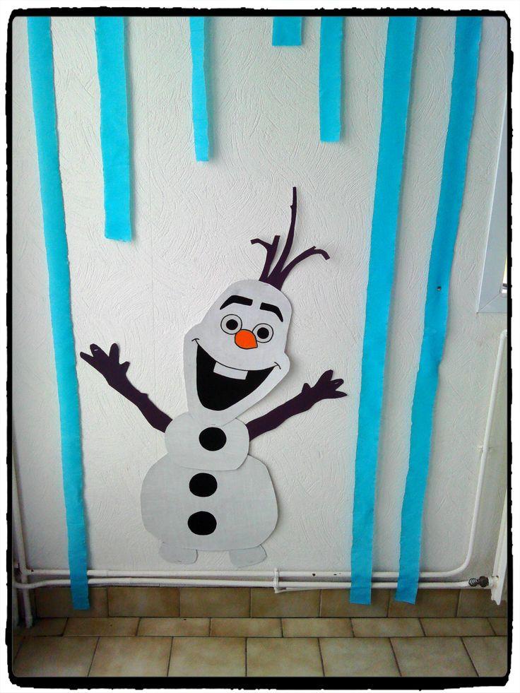anniversaire reine des neiges, birthday frozen, frozen party, olaf