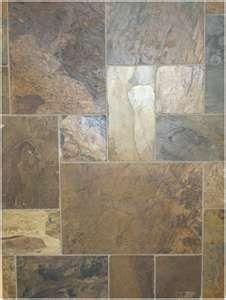 Kitchen flooring - love the variety of sizes