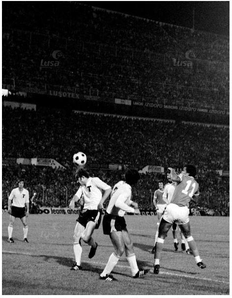 Benfica - Torpedo de Moscovo - 14 Setembro 1977