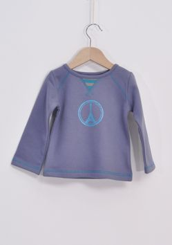 WINTER COLLECTION / La Queue Du Chat / Peace & Love Sweat / Nice baby boy's sweater in 100% organic cotton to keep your little one warm. www.littlefrenchy.com.au  #french #laqueueduchat #new #winter #littlefrenchy