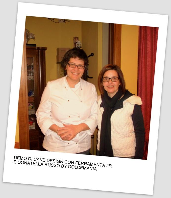 Cake designer Donatella Russo e Katia Ricca