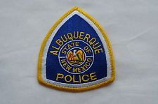 Albuquerque New Mexico Police Patch Obsolete