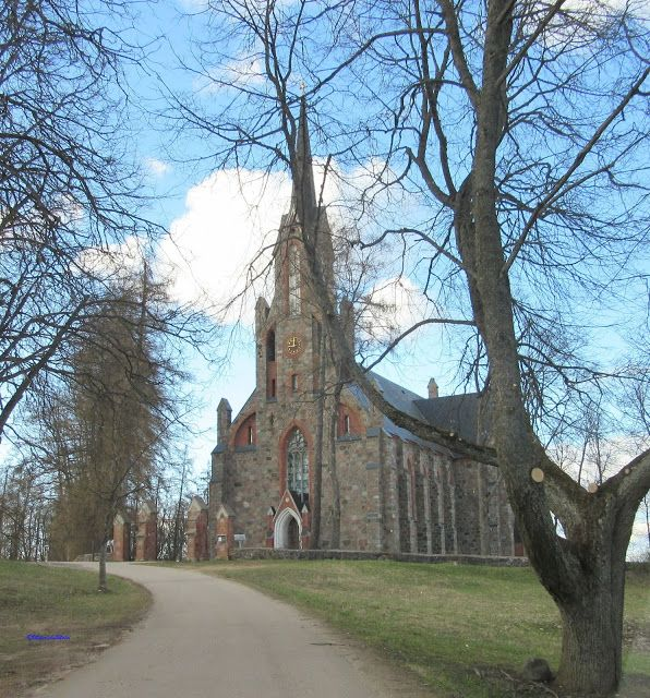 Cesvaine Evangelic Lutheran Church, Latvia