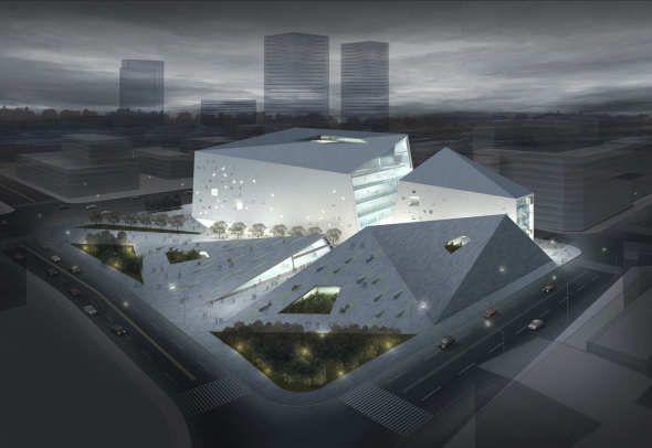 El proyecto para el Museo de Arte Moderno de Chengdu, fue diseñado por el despacho de arquitectura Studio Ramoprimo. El museo estará ubicado a un costado de la plaza de Tian Fu, centro neurálgico de la ciudad de Chengdu, China.