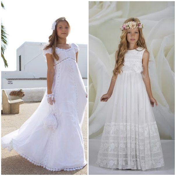Vestidos de comunión para niñas Más