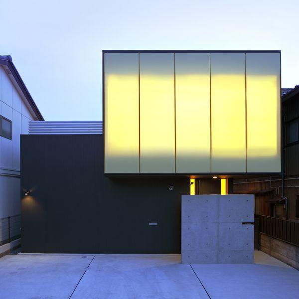 重量鉄骨造の住まい | Black Edge 光を切り取る家 | アーキッシュギャラリー