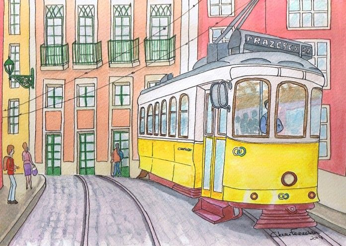 Eléctrico Lisboa Prazeres