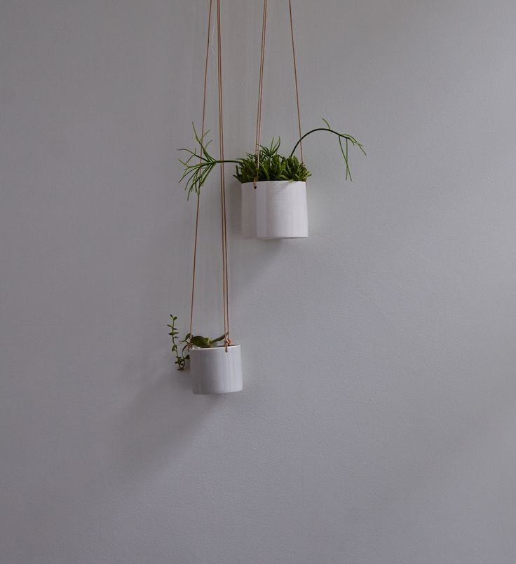 Grow hanging flower pots by Anne Black (set of 2)