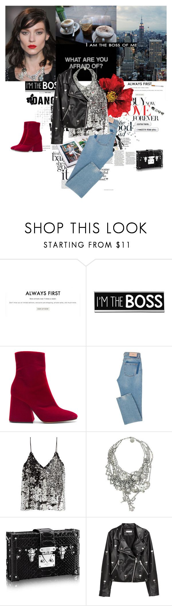 """I am the boss of me"" by karliuxxx ❤ liked on Polyvore featuring Gianvito Rossi, Cotton Candy, Maison Margiela, Bobbi Brown Cosmetics, KEEP ME, Samsøe & Samsøe, Tom Binns, H&M and Chanel"