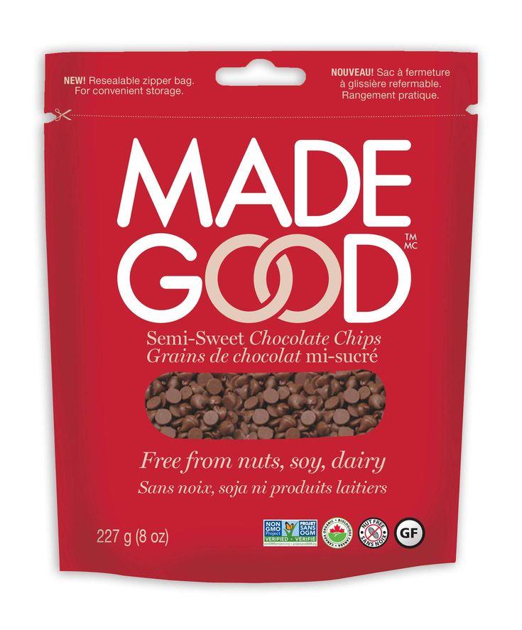 Grande Ruche Made Good - Organic Semi-Sweet Chocolate Chips, 227g