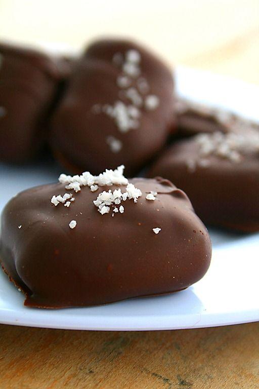 chocolate covered bourbon cocktails sea salt caramel christmas candy ...