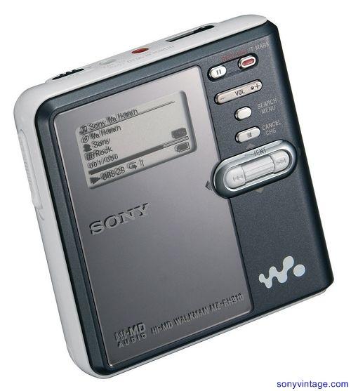 Minidisc Walkman 2005 - - via http://bit.ly/epinner