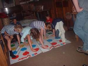 Hanging with my best friends sleeping over at their houses..Games like Twister, Clue, Tip it, Hands down, and listening to records...whispering after Debbie's mom would yell....go to sleep!!!