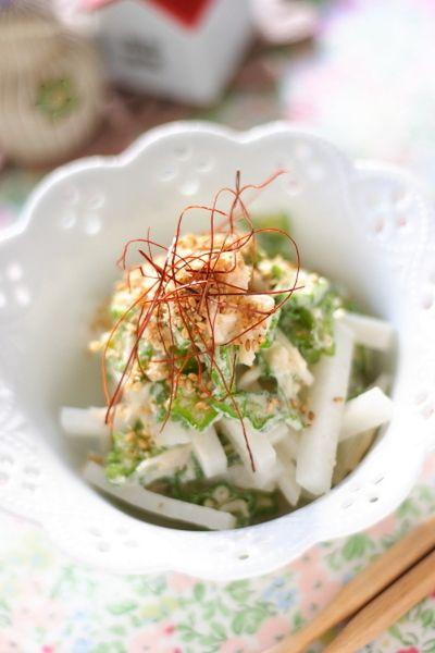 オクラと帆立のサラダ by 小春ちゃんさん   レシピブログ - 料理ブログ ...