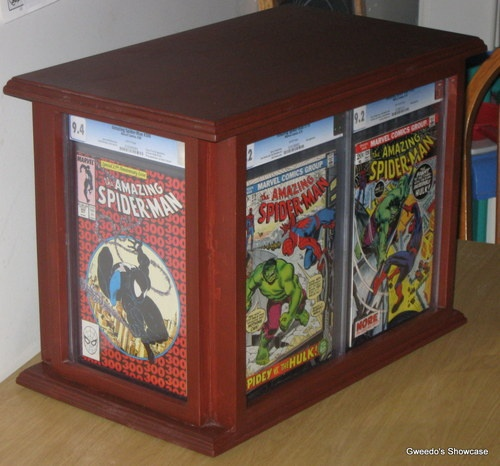17 best images about comic storage on pinterest comic book collection shelf ideas and comic - Comic book display shelves ...