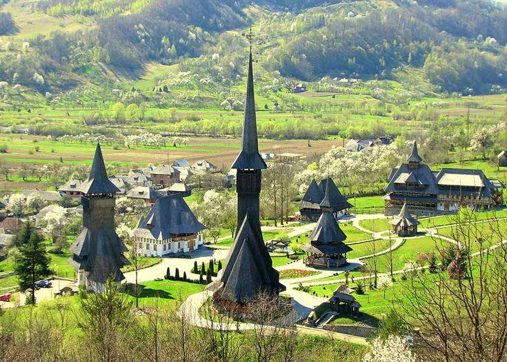 Barsana Monastery, UNESCO site. Photo by János Rusiczki, www.rusiczki.net