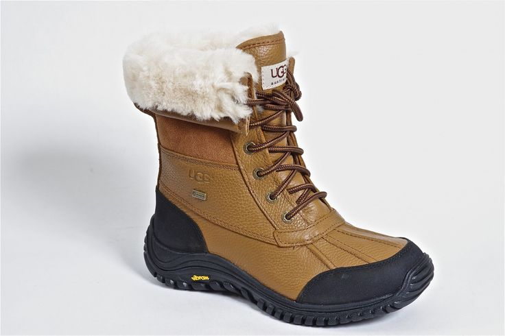 Adirondack Short by Ugg Australia - Built for serious outdoor activity. Sherling lined with waterproof gore-tex membrane and a removable thermo insole.  Order now: http://millershoes.com/shop/boot/adirondack-short/
