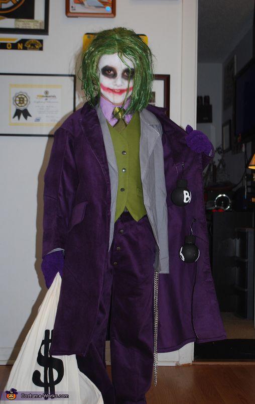 Best 25 boys joker costume ideas on pinterest kids joker joker halloween costume contest at costume works solutioingenieria Choice Image