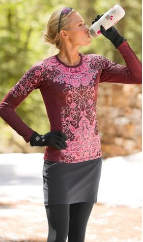 Runaway outfit via Athleta - I love running in the fall in fashionable, functional, outfits!