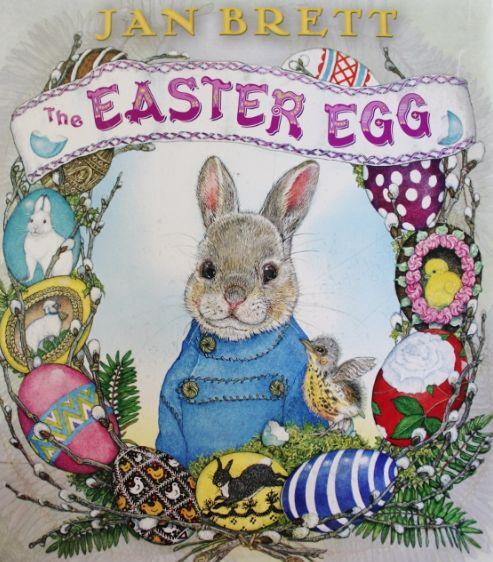"""This is a book review of Jan Brett's """"The Easter Egg"""". I've also included some related activities (art, story response, journal, poem). Looking for some Easter egg clipart? I have some here: https://www.etsy.com/ca/listing/123392531/easter-eggs-bright-and-colorful?ref=shop_home_active_19"""