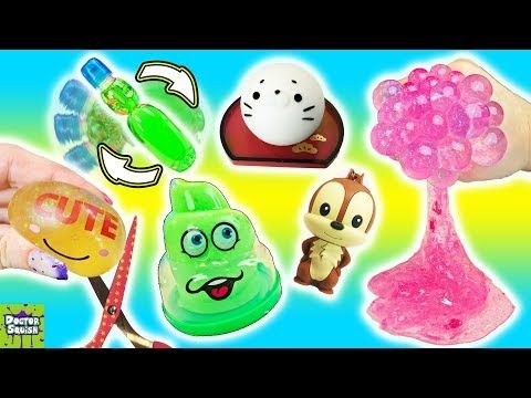 Squishy Spin The Bottle! Cutting Open Squishy Toys Game Doctor Squish - YouTube