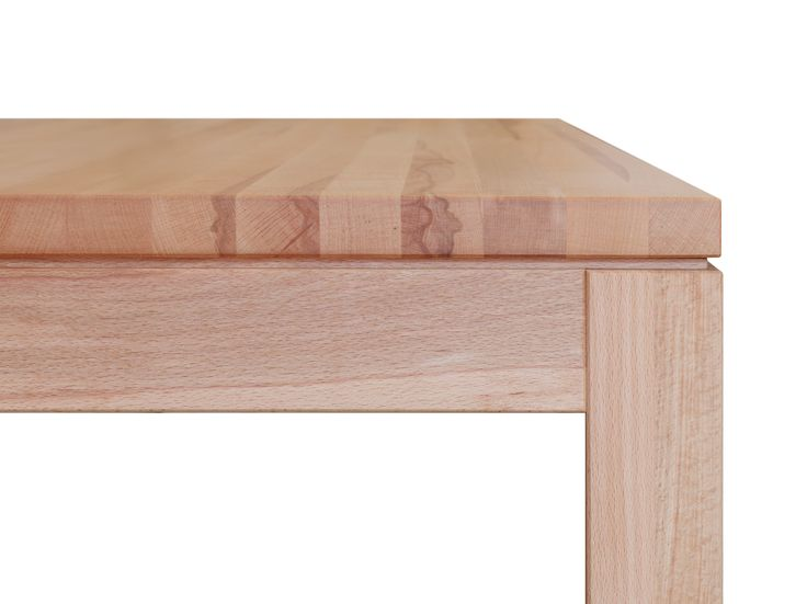 Von eleganter Erscheinung - dieser #Tisch: Modell Cursa. © www.buchenblau.de