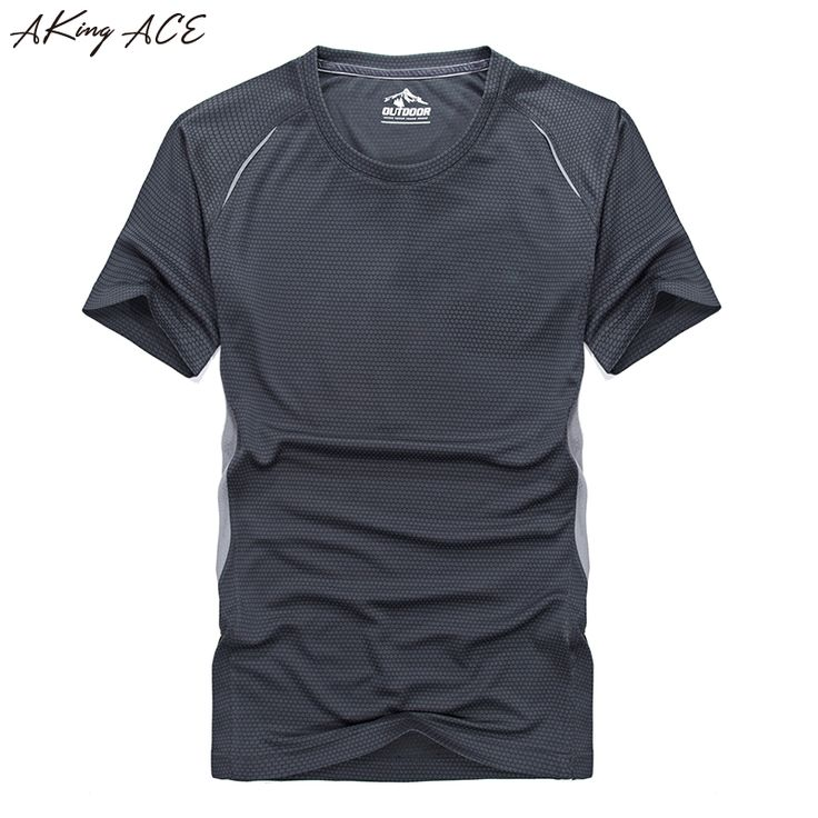 Fast Dry men large t shirts 2017 Summer compression muscle t shirt bodybuilding Tee breathable active shirt for male, ZA231