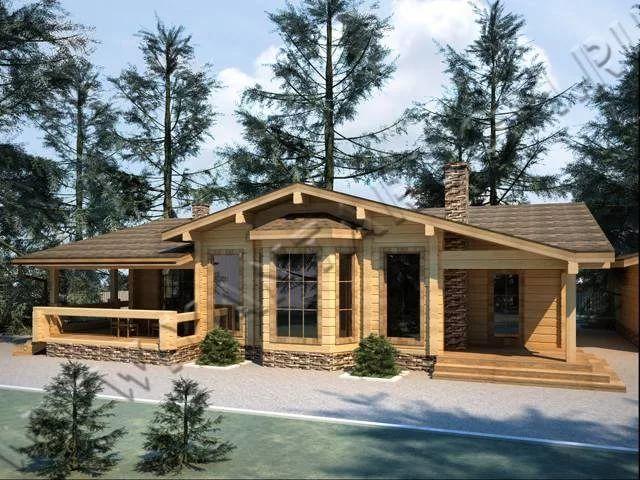 одноэтажные финские деревянные дома фото: 13 тыс ...