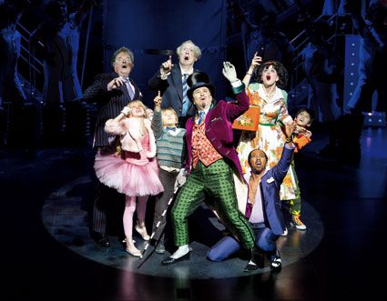 charlie-chocolate factory musical London