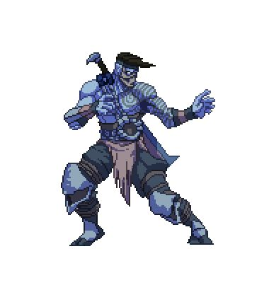 Shadow Jago sprite. More to come!