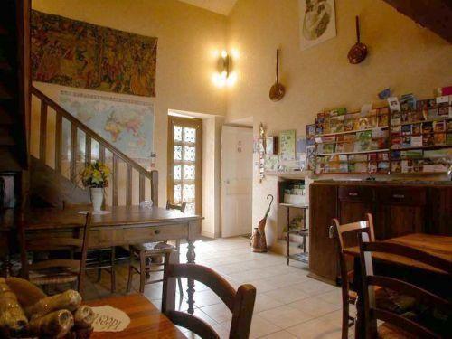 Chambres d'hôtes de rizerolles: La salle commune - France-Voyage.com