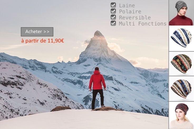 #bonnet #ski #montagne #neige #froid #meteo #sport #hiver #mode #fashion #tendance #polaire #laine #streetwear #Ethnic @GoHappyTeam