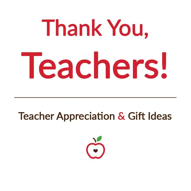 Check out our favorite ideas for Teacher Appreciation Week!