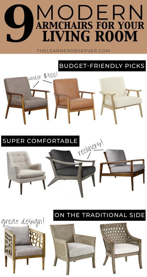 traditional armchairs for living room mirrors in the updating family rooms 9 modern your with options that recline and designs