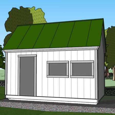 Backyard Cabin Kits   Wooden Storage Sheds for Sale