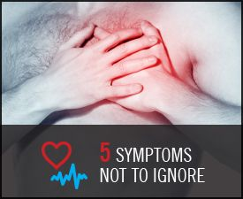 5 Heart Symptoms You Shouldn't Ignore #loveyourheart