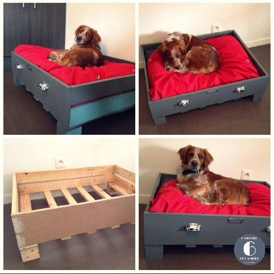 fabriquer un lit pour chien maison design. Black Bedroom Furniture Sets. Home Design Ideas