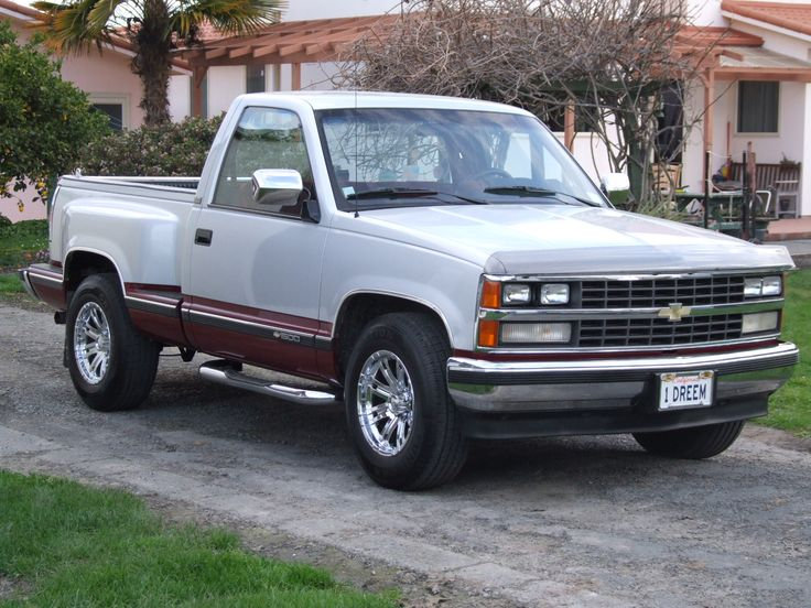 1 owner,1989 Chevy Silverado, bought in Oregon 2012