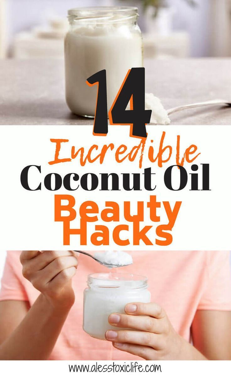 14 Incredible Coconut Oil Beauty Hacks