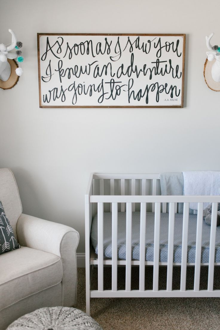 Caleb's Rustic Neutral Nursery Reveal