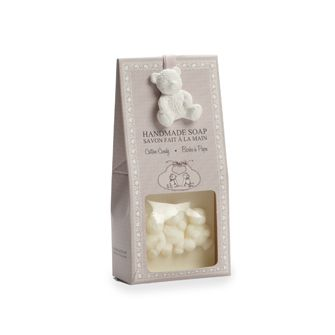 The sweet cotton candy scent of this handmade soap makes it the perfect gift set for anyone! Containing natural extracts of linen oil known for its soothing and moisturizing properties, this soap truly is a treat! - $7.89