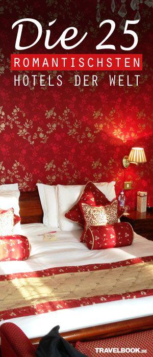 Die Reisewebsite Tripadvisor hat auf der Basis der Bewertung Millionen Reisender die romantischsten Hotels der Welt gekürt... Übrigens: Nächsten Samstag ist Valentinstag! Hier gehts zur Top 25: http://www.travelbook.de/europa/Von-Urlaubern-gewaehlt-Die-romantischsten-Hotels-der-Welt-601638.html