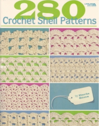 Freedom of creativity and plenty of choices. You'll enjoy both while using the compendium of shell stitches found in the Crochet Shell Patterns book to fashion your own crochet designs. Choose from 280 pattern stitches by Darla Sims to make blankets, placemats, bedspreads, rugs. Whatever you can imagine is sure to take form using one of the shell stitch variations. From easy to intricate, you'll find dozens of pattern stitches to suit your skill level. The photo models were created