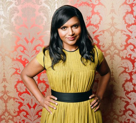 Mindy-Kaling dress style and color