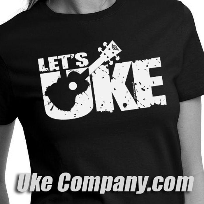 Get your Uke On! ukecompany.com #ukuleletshirt #ukecompany #ukuleletshirt