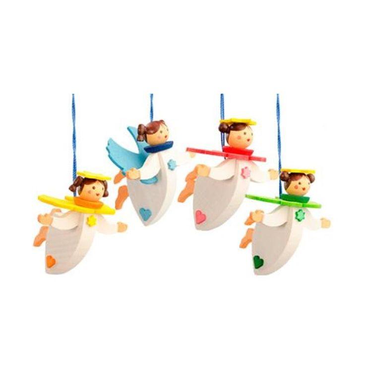 Floating Christmas Angels - Set of 4